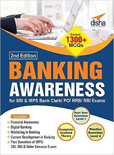 Buy Banking Awareness for SBI & IBPS Bank Clerk/ PO/ RRB/ RBI Exams