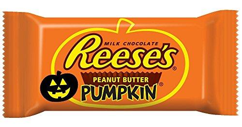 Reese's Halloween Peanut Butter Pumpkins, 1.2-Ounce Bag (Pack of 36) -
