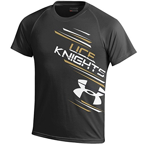 NCAA Central Florida Golden Knights Youth Tech Tee, Black, Small