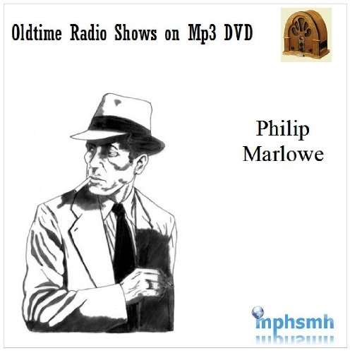 PHILIP MARLOWE Old Time Radio (OTR) series (1947-1951) Mp3 DVD 105 episodes