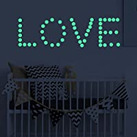 Glow in The Dark Stars Wall Stickers Oumers 4 Packs of 1628 Adhesive Fluorescent Dots Best Luminous Wall Decals for Bedroom Living Room Pub Ceiling