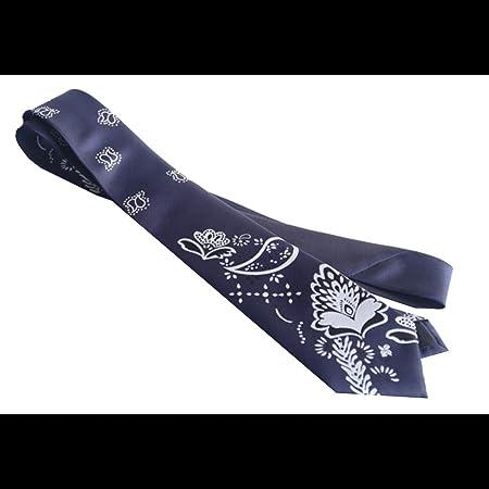 Corbata Corbata De Seda con Estampado De Flores De Anacardo For ...