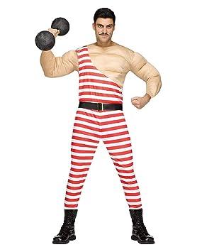 Horror-Shop Circo Traje Hombre del músculo One Size