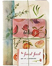 The Forest Feast Notebooks (Set of 3)