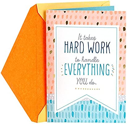 Amazon hallmark administrative professionals day greeting card amazon hallmark administrative professionals day greeting card your hard work is appreciated office products m4hsunfo