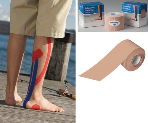 SPECIAL PACK OF 3-Kinesiology Tape 2 x 15ft Beige by Marble Medical