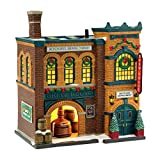 Department 56 Christmas in The City Village The Brew House Lit House, 8.11-Inch
