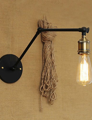 ZQ Creative A Simple Modern American Country Without The Mirror Wall Lamp Shade Iron Arm , 110-120v