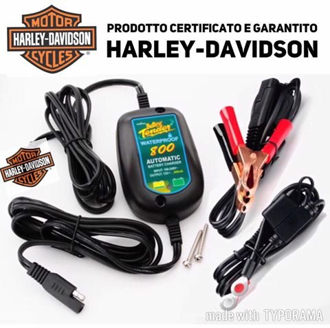 Exercice Batteries Batterie Chargeur battery Tender maintien de charge intelligente impermé able ré sistant eau 800  mais garanti Harley Davidson Sportster 883  1200  XL XLH xLC Custom Iron Nightster Roadster Forty Eight Sevent