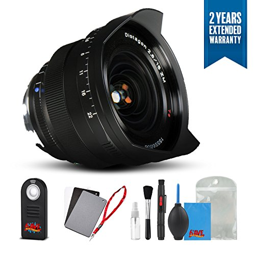 Zeiss Distagon T 15mm f/2.8 for M Mount Cameras Bl...