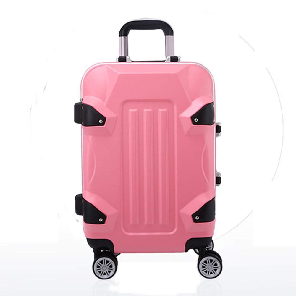 トロリーケース、スタイリッシュな個性360°ミュートキャスタースーツケース B07SF62SD1  42*25*65CM
