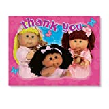 Cabbage Patch Kids Invitations and Thank You Notes - 8 Count