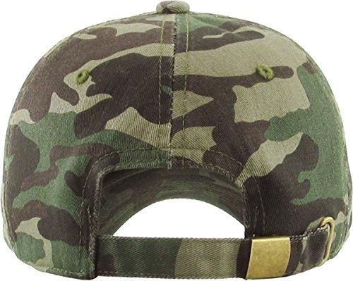 367560b33b Polo Style Low Profile KB-LOW CAM Classic Cotton Dad Hat Adjustable Plain  Cap. Polo Style Low Profile ...
