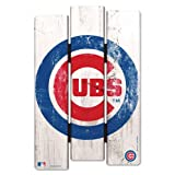 CHICAGO CUBS WOOD FENCE SIGN