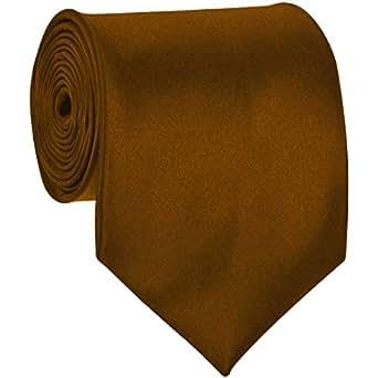 Formal Tie Solid Burnt Gold