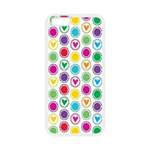 Polka Dot Design iPhone 6 4.7 Inch Cell Phone Case White as a gift R542932