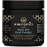 Dead Sea Mud Facial Mask - Spa Quality Exfoliating Face Mask to Cleanse & Minimize Pores, Moisturize, Detoxify & Exfoliate With Manuka Honey, Shea Butter, Hemp Oil, Aloe Vera & More by Era Organics
