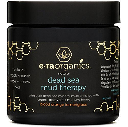 Dead Sea Mud Mask with Organic Aloe Vera, Shea Butter, Manuka Honey (Aloe Vera Face Mask)