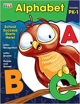 Amazon.com: Alphabet Workbook (9781483816494): Brighter ...