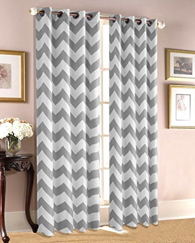 ace-21-chevron-zig-zag-print-insulated-100-thermal-blackout-window-grommet-curtain-panel-84-gray