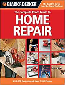 Books on home maintenance and repair