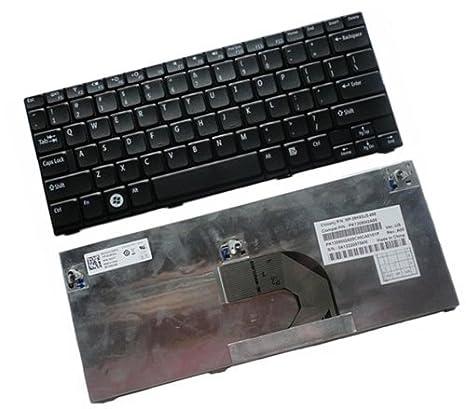 Nuevo teclado para ordenador portátil para Dell Inspiron Mini 10 (1018) nos 5ppvc v111502ds1 pk130 F11 a00 US Layout Black Color: Amazon.es: Informática