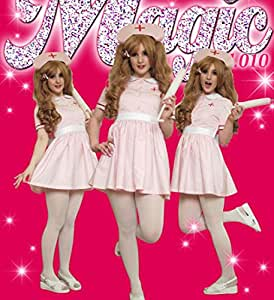 Three-piece Set Angel Nurse Z010 Gothic Lolita Punk Cosplay Costume Maid