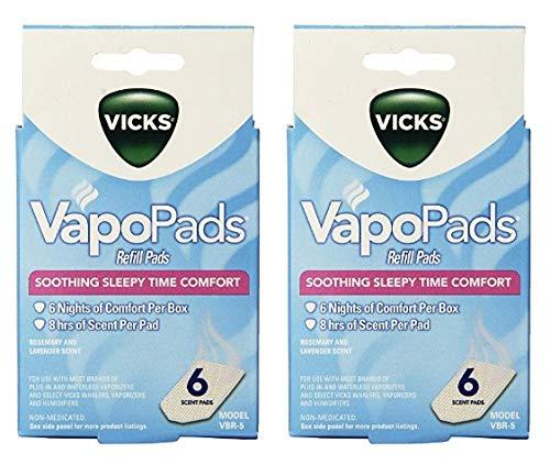 (Vicks Sleepytime Waterless Vaporizer Scent Pads\.23 (12/Vapo Pads))