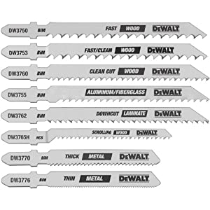 6 Jigsaw Blades