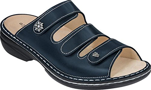 Blue Leather Finn Menorca Womens Sandals Comfort nq7XwB