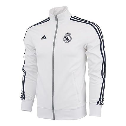 adidas para hombre de fútbol Real Madrid 3-Stripes Track chamarra   aa1773 915d6a20b13fe