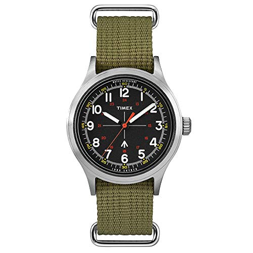 (Timex Men's Todd Snyder Military 40mm Olive/Black 2 One Size)