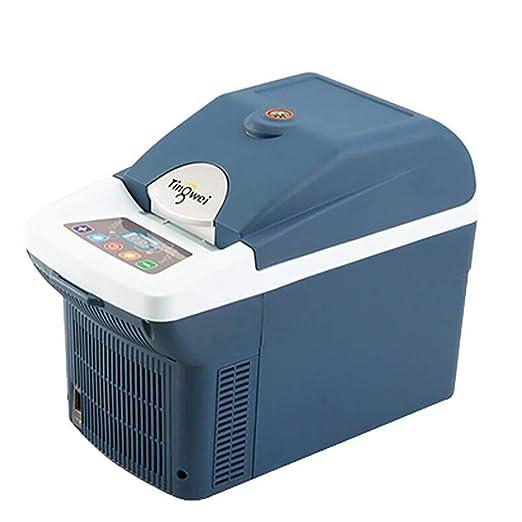 TUNBG Refrigerador portátil para Autos 6l - Refrigerador Compacto ...