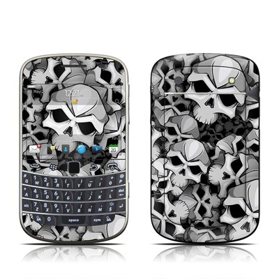 Bones Design Protector Skin Decal Sticker for BlackBerry Bold Touch 9930 9900 Cell Phone