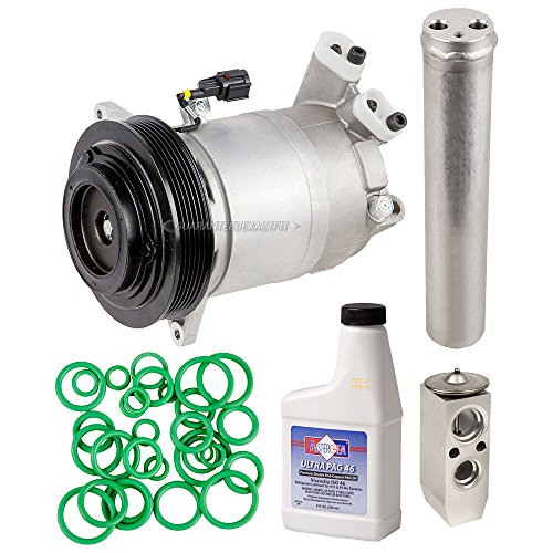 Nissan Maxima Clutch (New AC Compressor & Clutch With Complete A/C Repair Kit For Nissan Altima Maxima - BuyAutoParts 60-81131RK New)