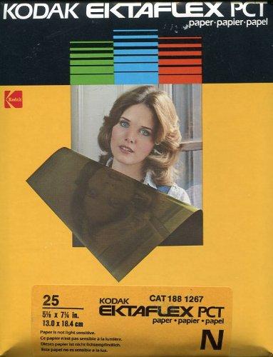 Ektaflex PCT用紙、25 : 5 1 / 8 x 7 1 / 4 in   B004OKFRO6