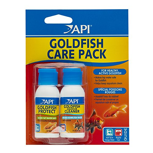 Goldfish Aquarium Filters (API GOLDFISH CARE PACK Aquarium Water Conditioner 1.25-Ounce Bottle)