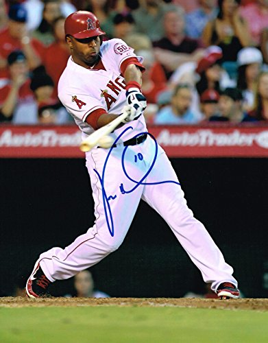 Vernon Wells Signed Photo - 11X14 COA - Autographed MLB Photos