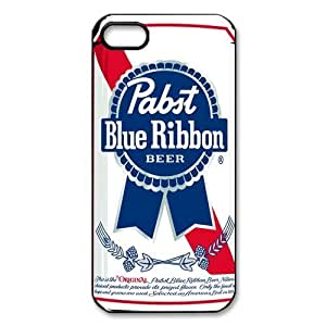 DiyCaseStore Vintage Pabst Blue Ribbon Beer Can iPhone 5 5S New Style Durable Case Cover