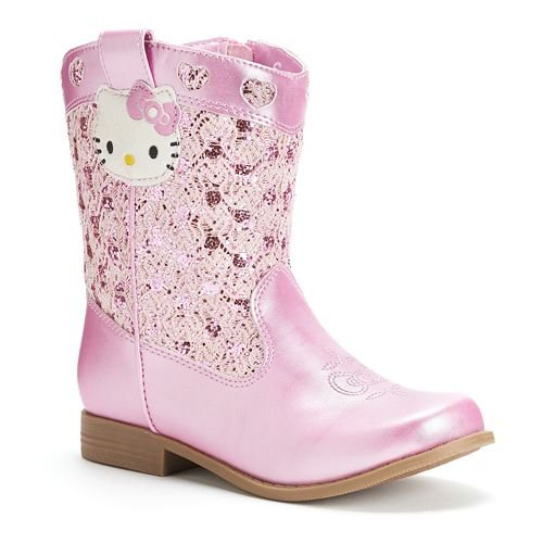 Hello Kitty Girls Trixie Western Boot
