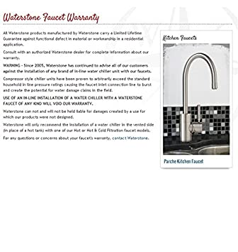 Waterstone 3150-DAMB Towson Wall Mount with Single Cross Handle Pot Filler Faucet Distressed American Bronze