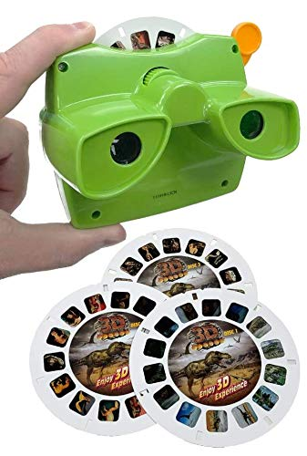 Back to Basics ViewFinder Dinosaurs 3D View Set (Includes 1 ViewFinder, 3 Reels)