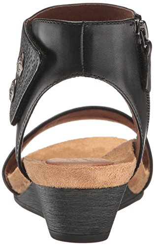 Piece Leather Black 2 Hill Sandal Women's Cuff Hollywood Cobb wIqfROW