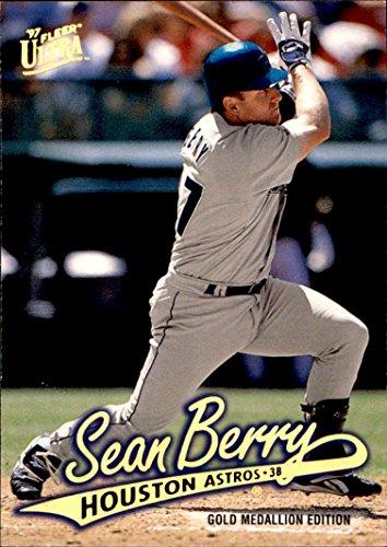 1997 Ultra GOLD MEDALLION #206 Sean Berry HOUSTON ASTROS