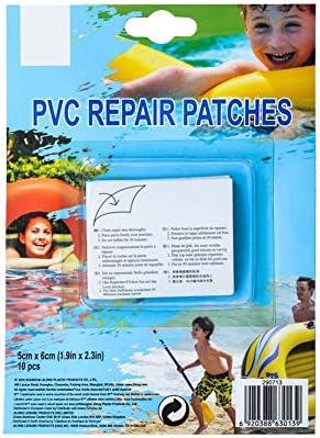 10 Stück Reparatur Patches Pool, Wasserfeste, Selbstklebende Reparaturflicken, Poolflicken Für Aufblasbare Produkte