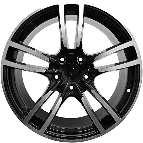 20 INCH RIMS FITS PORSCHE PANAMERA TURBO S GTS BASE STAGGERED TURBO 2 WHEELS (20 Inch Staggered Rims)