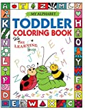 #7: My Alphabet Toddler Coloring Book with The Learning Bugs: Fun Kids Coloring Book for Children Ages 2,3 & 4 - Over 100 Pages of Coloring with ... Prep