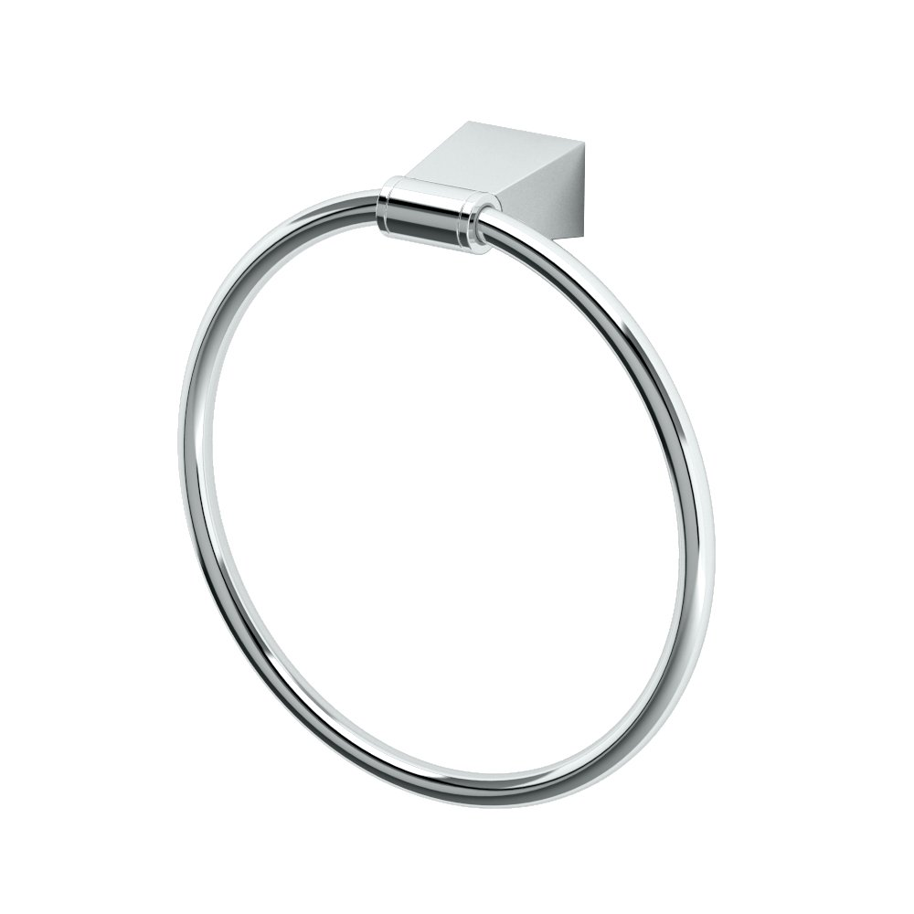 Gatco 4712 Bleu Towel Ring, Chrome