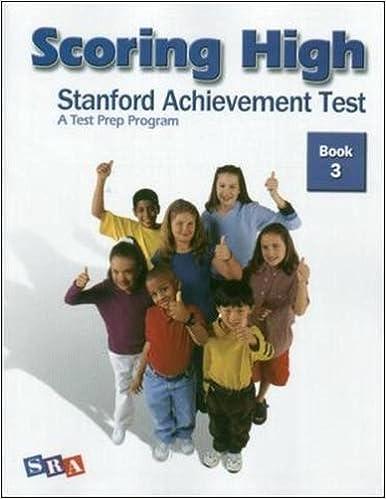 scoring high stanford achievement test book 3