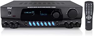 NEW PYLE PRO PT260A 200W Home Digital AM FM Stereo Receiver Theater Audio (Renewed)